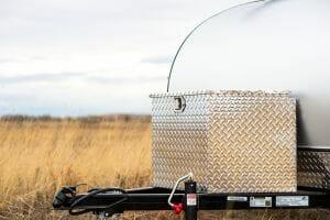 Locking Aluminum Tongue Storage Box For Teardrop Trailers
