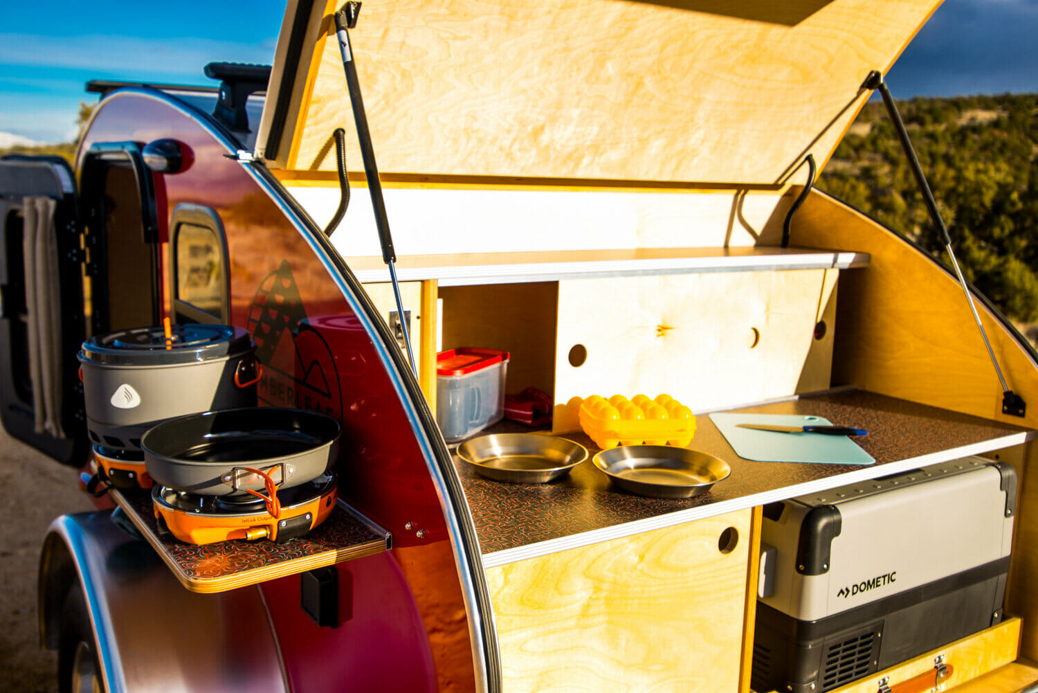 Timberleaf Trailers Pika Galley | Small Camping Trailers