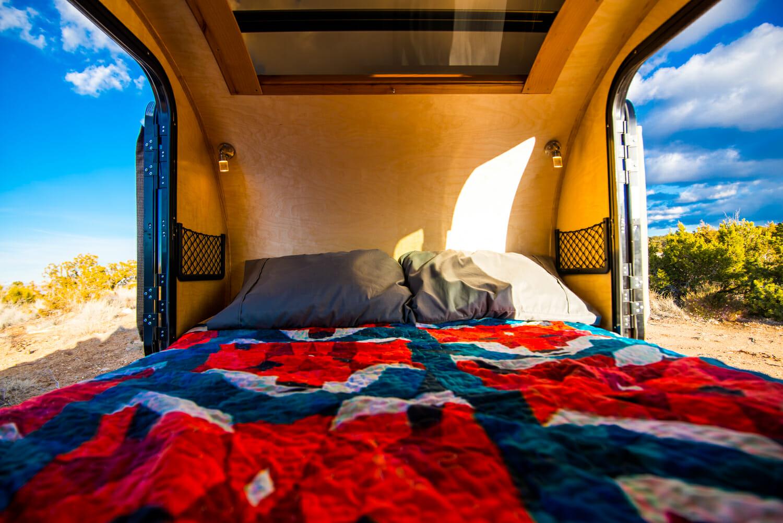 Pika Teardrop Trailer Cabin | Custom Teardrop Trailers