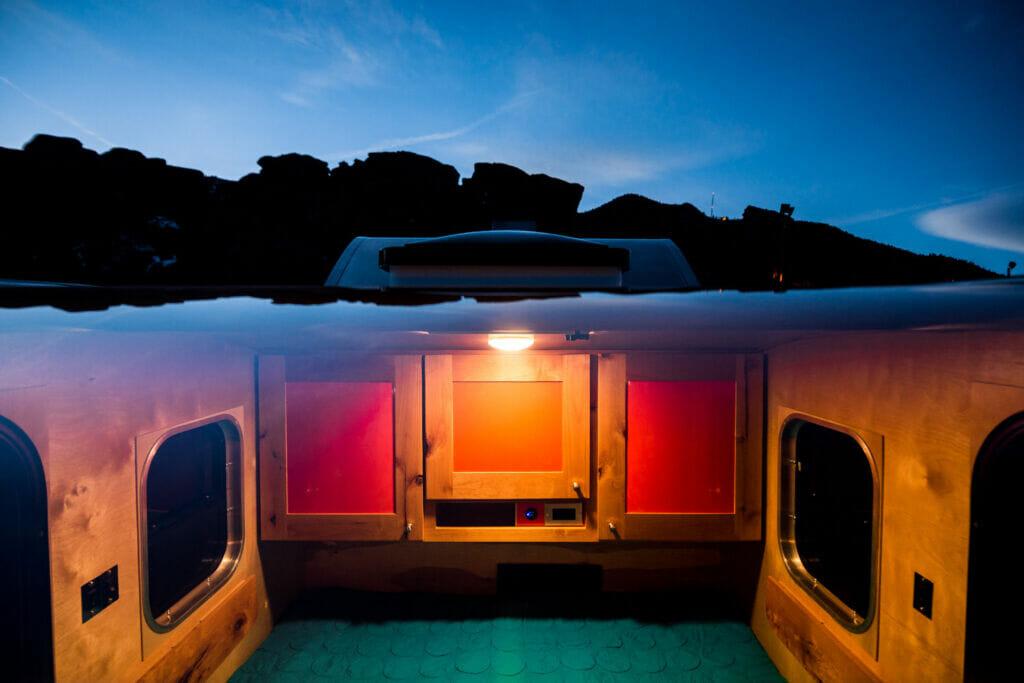Classic Teardrop Trailer Cabin   Small Camping Trailers by Timberleaf Trailers   Teardrop Trailer Accessories