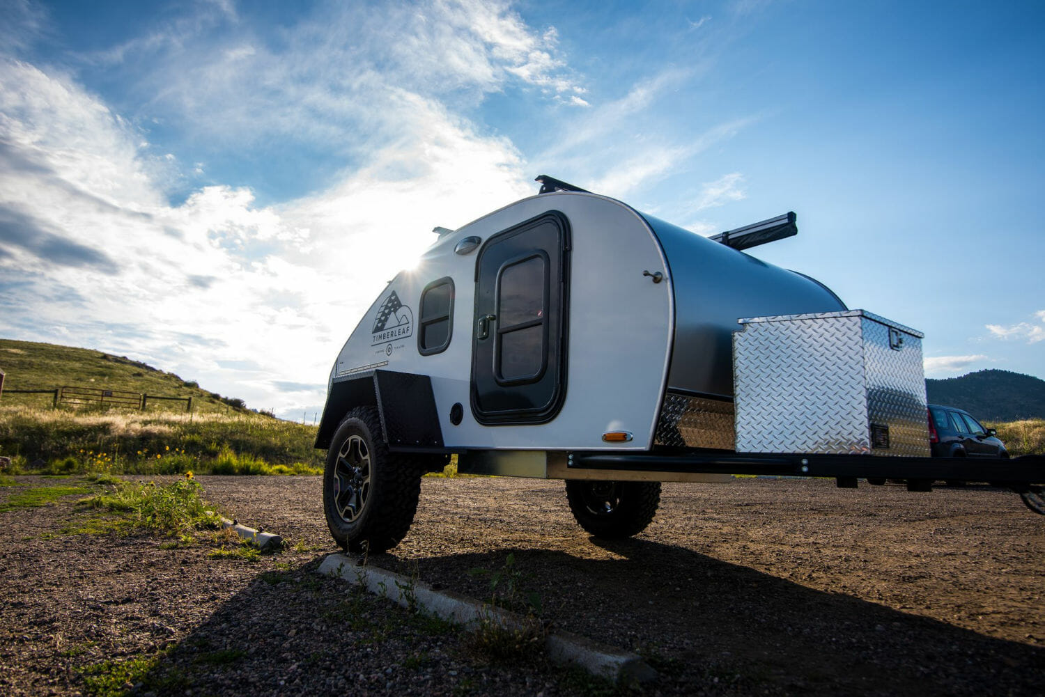 Overland Camping Trailer | Classic Teardrop Trailer by Timberleaf