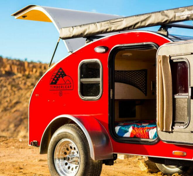 Pika Standard Teardrop Trailer | Small Camping Trailers