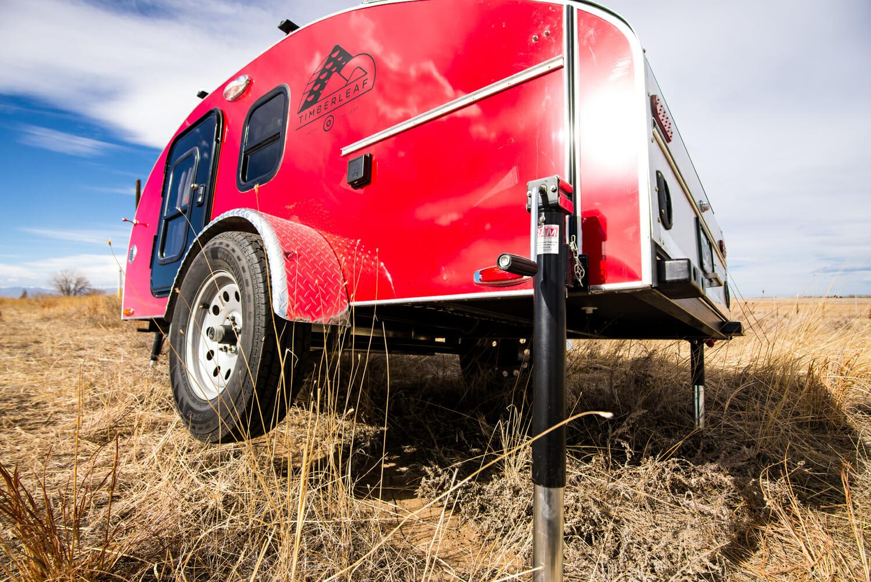 Rear Jack For Teardrop Trailers | Timberleaf Camping Trailers