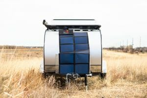 Overland Solar Panel With Controller 120W (Includes install)