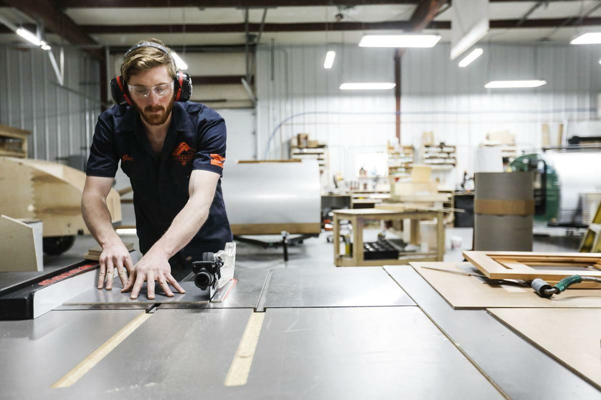 Building Custom Teardrop Trailers | Timberleaf Camping Trailers