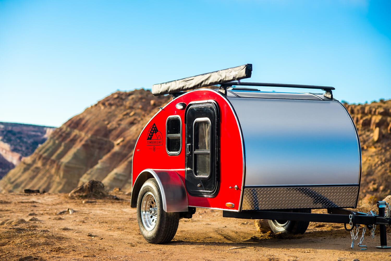 The Kestrel Camping Trailer by Timberleaf Teardrop Trailers