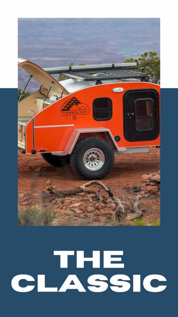 Teardrop Camping Trailer With Kitchen | Timberleaf Teardrop Trailers