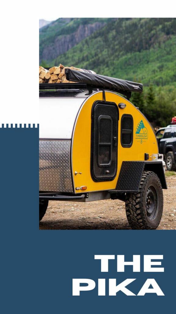 Small Camping Trailer | Timberleaf Teardrop Trailers